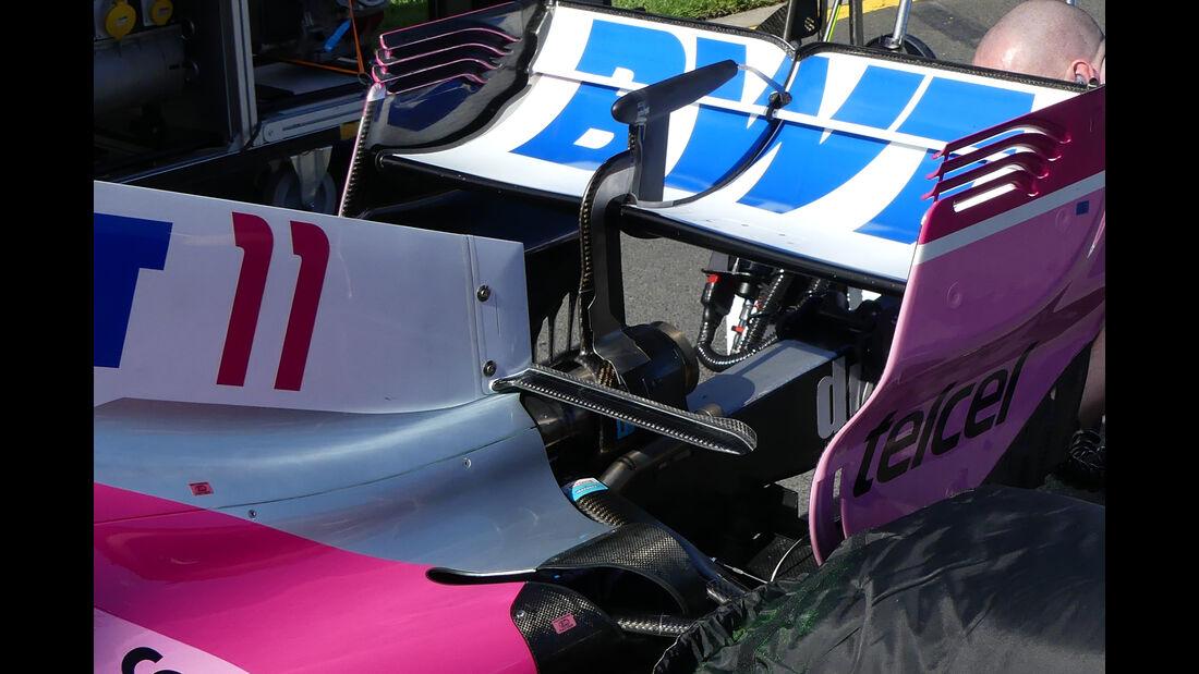 Force India - Technik-Upgrades - GP Australien 2018