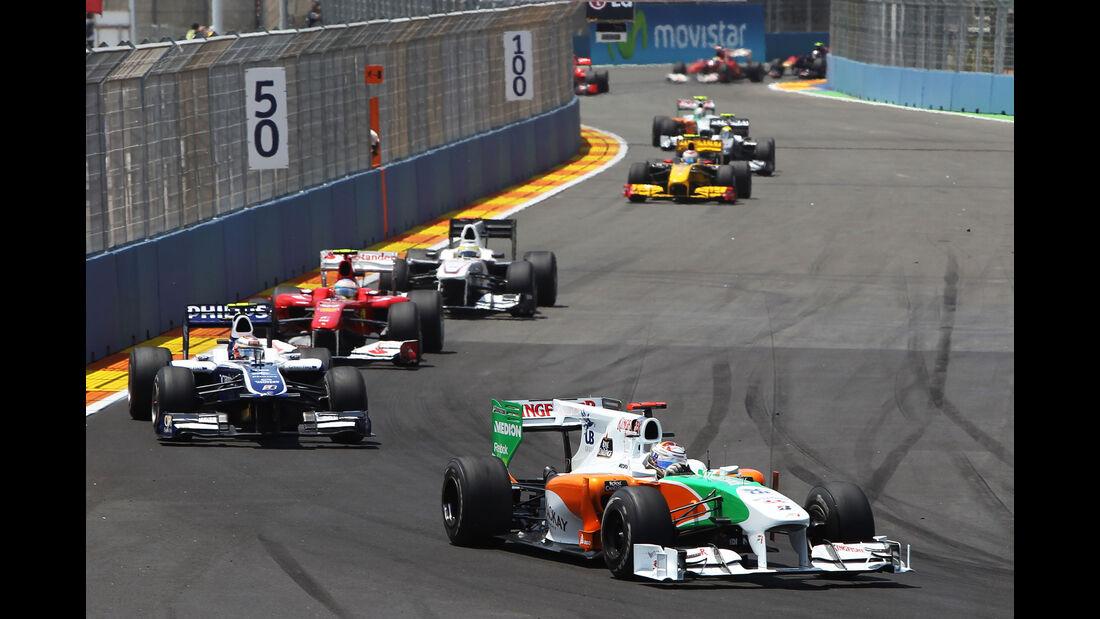 Force India VJM03 - Adrian Sutil - F1 2010