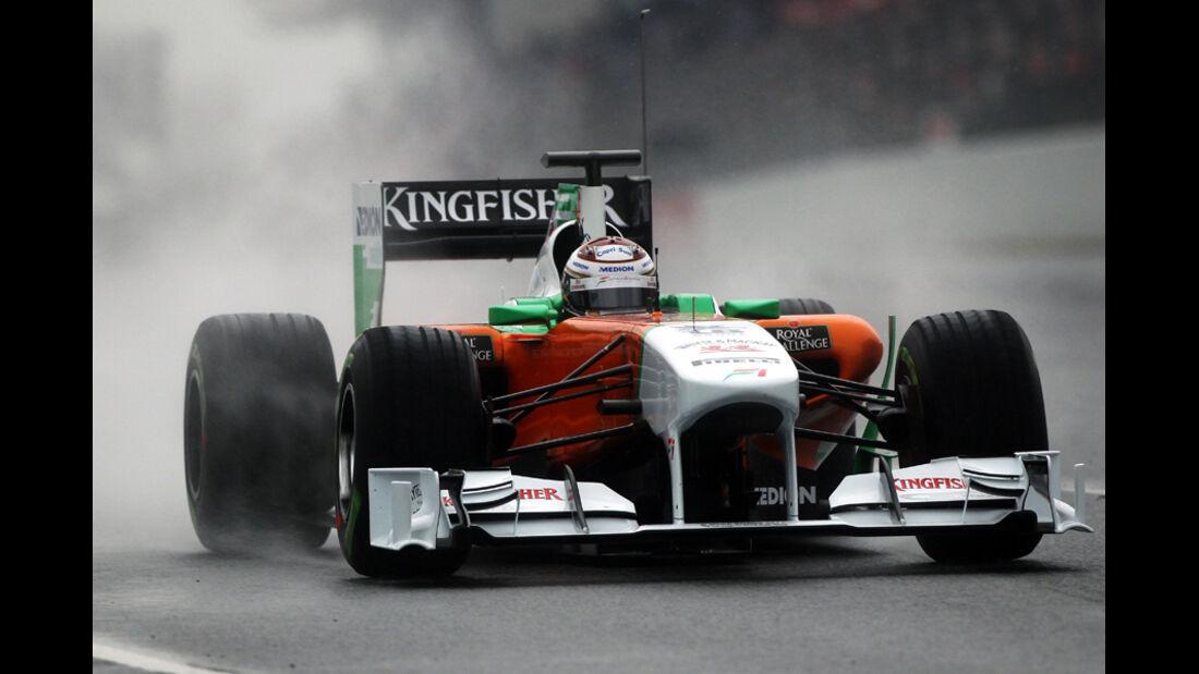 Force India VJM04 Sutil Formel 1 Test Barcelona 2011