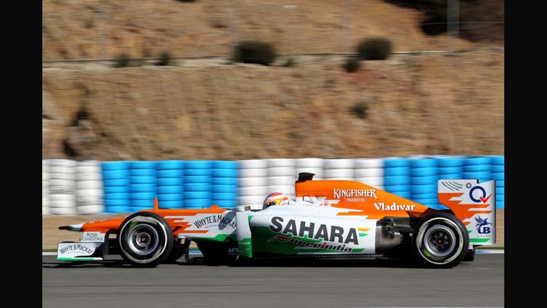 Force India VJM05 Formel 1 Jerez 2012