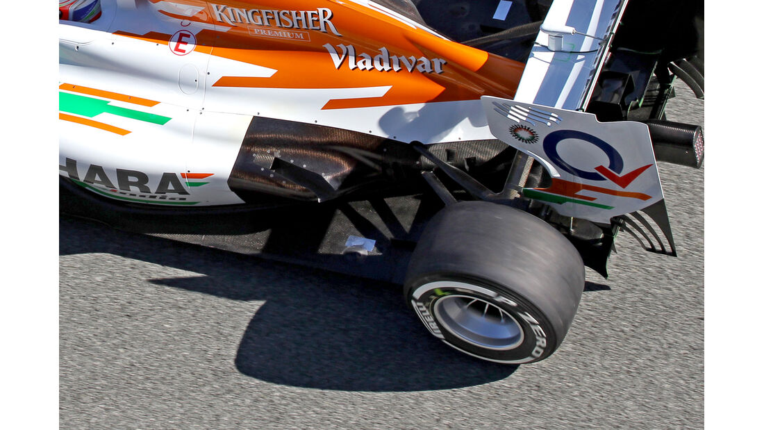 Force India VJM06 Auspuff F1 2013