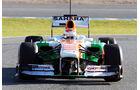 Force India VJM06 Nase F1 Jerez 2013
