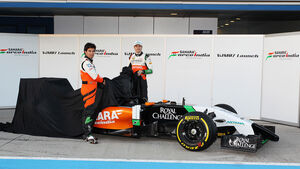 Force India VJM07 - 2014 Präsentation Jerez
