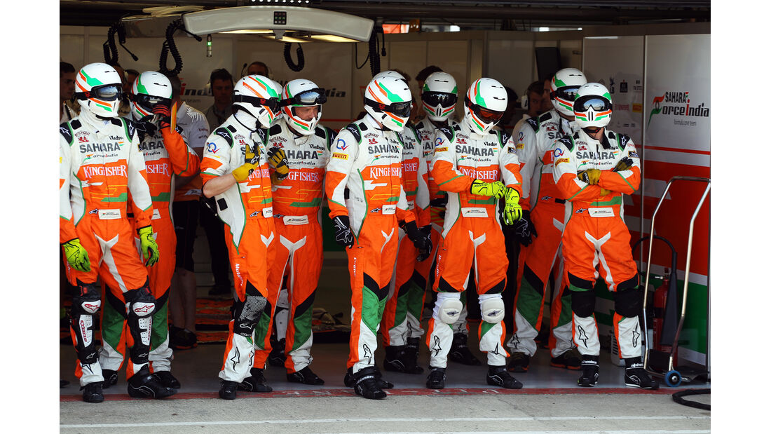 Force India - Young Driver Test - Silverstone - 18. Juli 2013