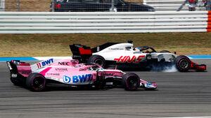 Force India vs. Haas - F1 2018