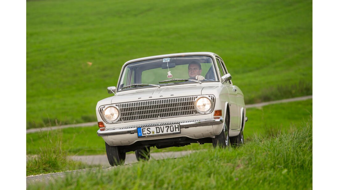 Ford 12 M P6, Frontansicht