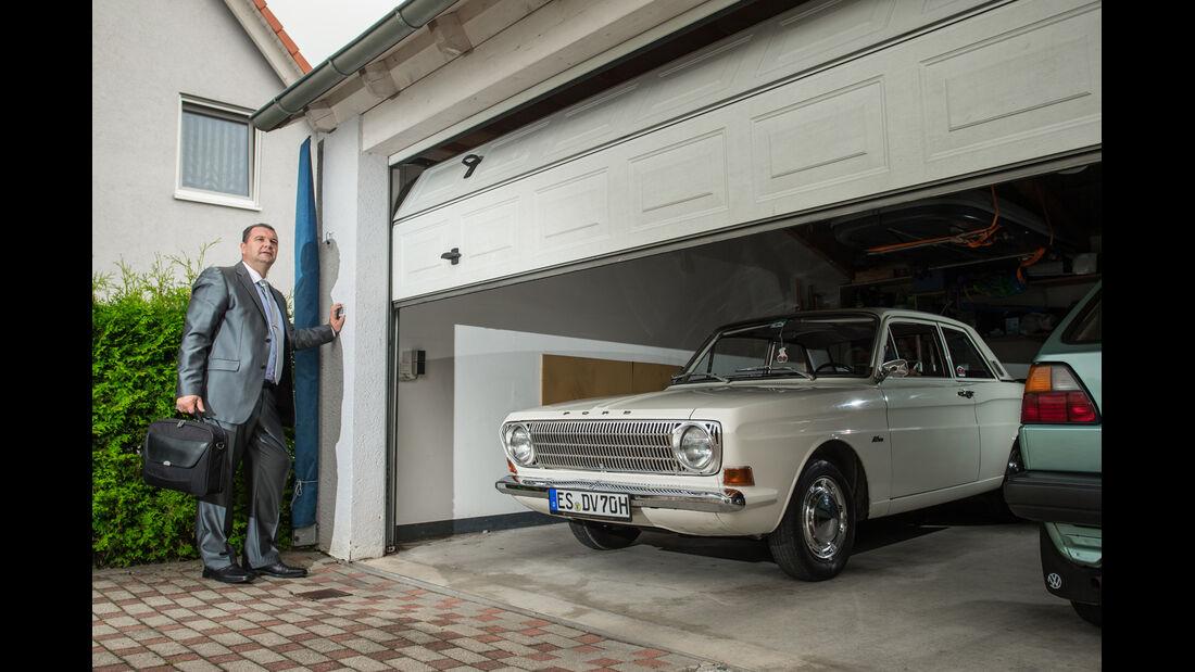 Ford 12 M P6, Frontansicht, Marcus Müller, Garage