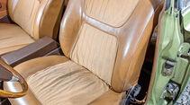Ford 17M/20M P7, Fahrersitz