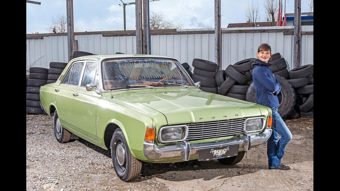 Ford 17M/20M P7, Frontansicht, Anna Matuschek