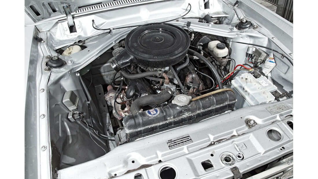 Ford 17M RS, Motor