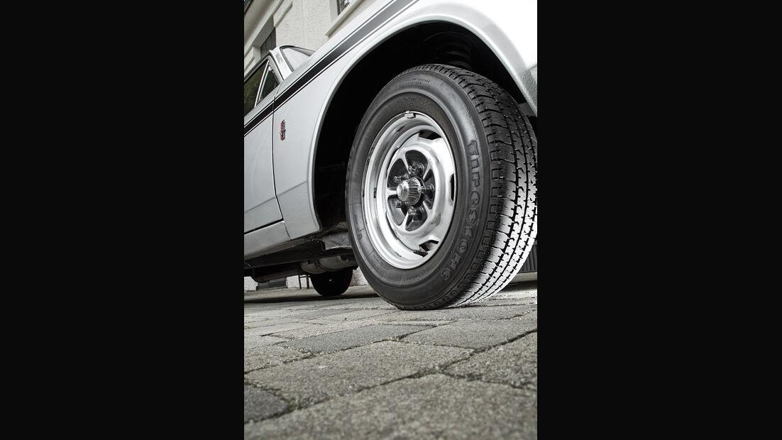 Ford 17M RS, Rad, Felge