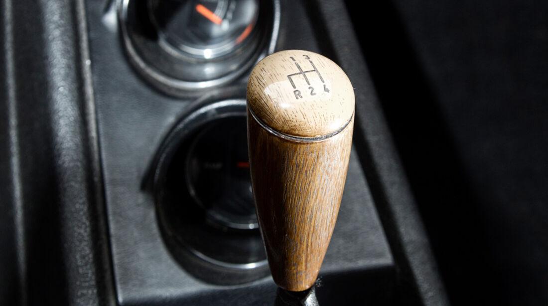 Ford 17M RS, Schalthebel, Schaltung