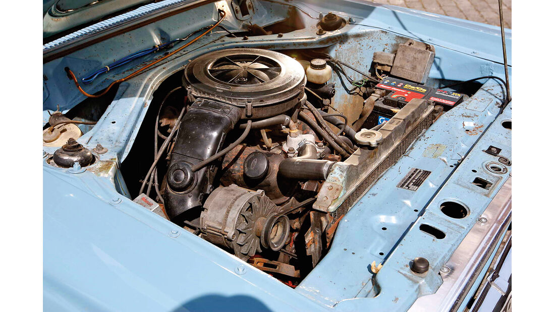 Ford 20 M, Motor