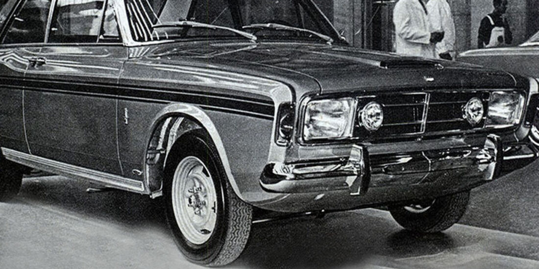 Ford, 20-M RS, IAA 1967