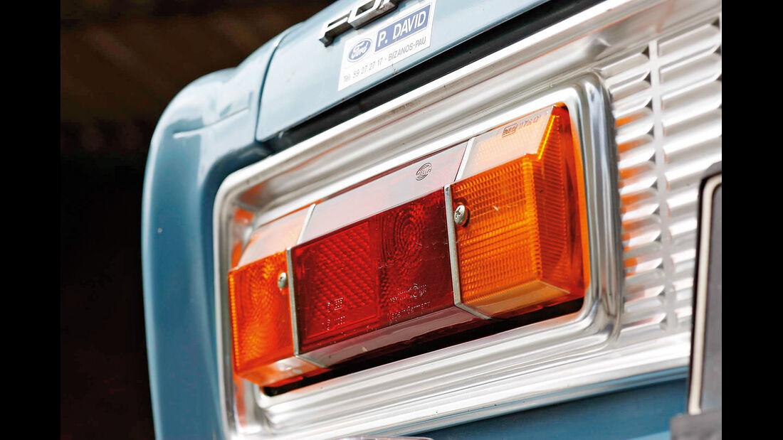Ford 20 M, Rückleuchte