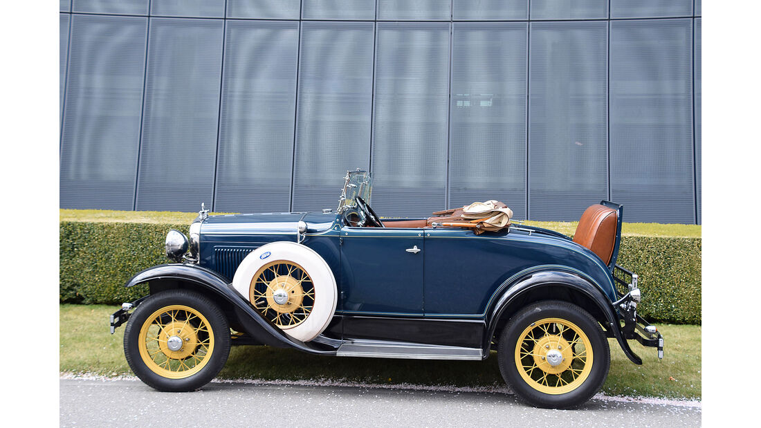 Ford A Deluxe Roadster 1930 Oldtimer Auktion Toffen