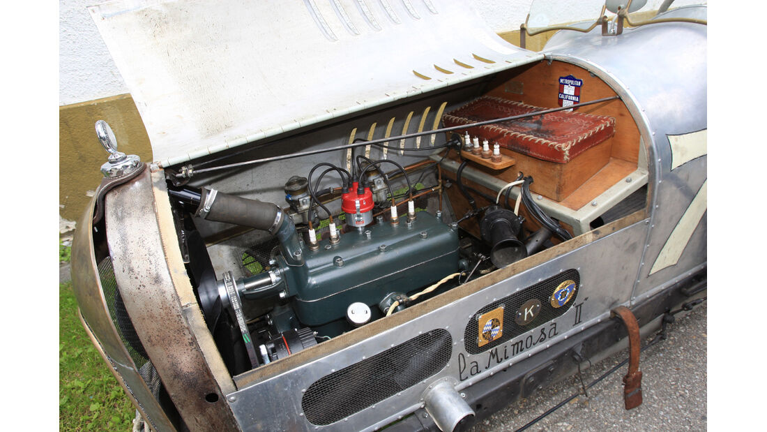 Ford A, Motor