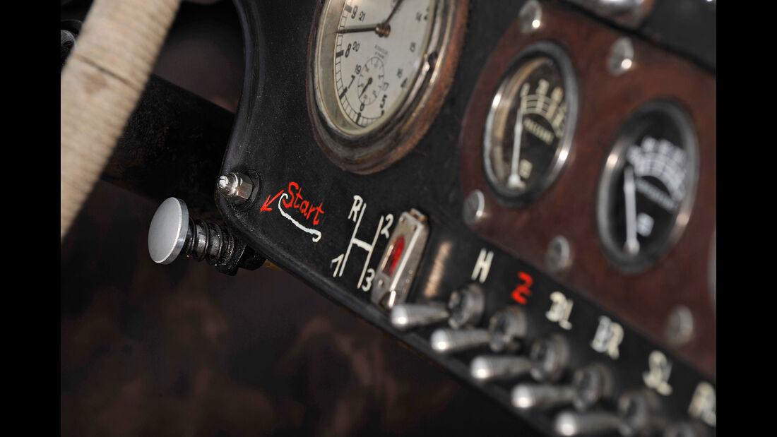 Ford A Racer, Anzeigeinstrumente