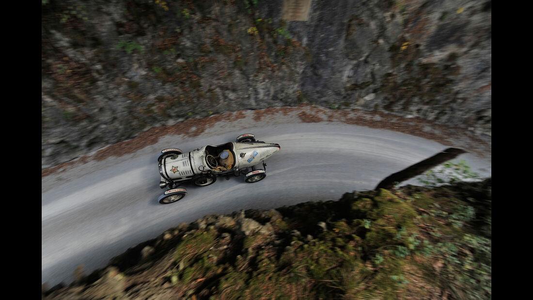 Ford A Racer, Draufsicht