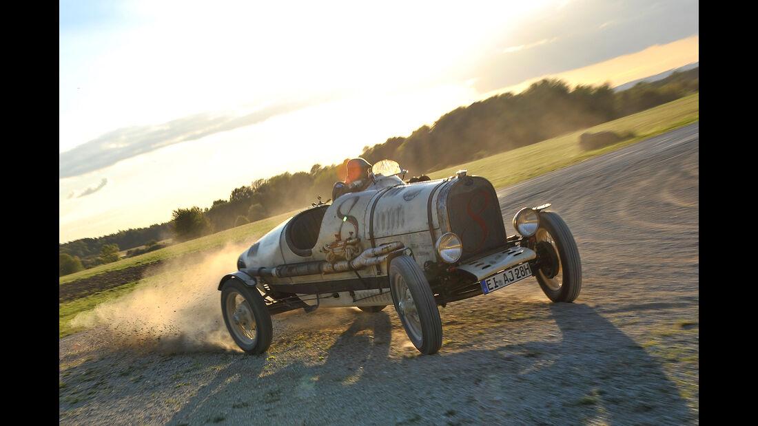Ford A Racer, Driften