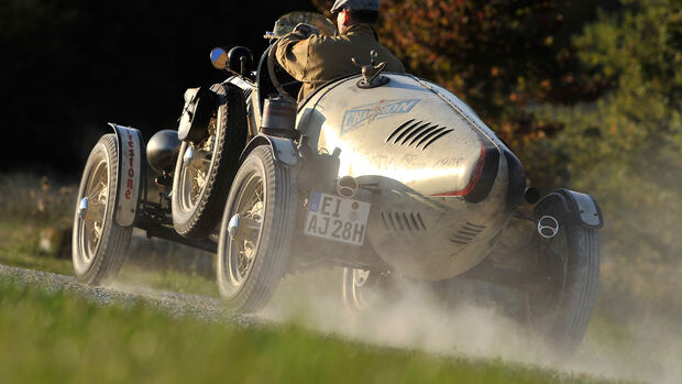 Ford A Racer, Heckansicht