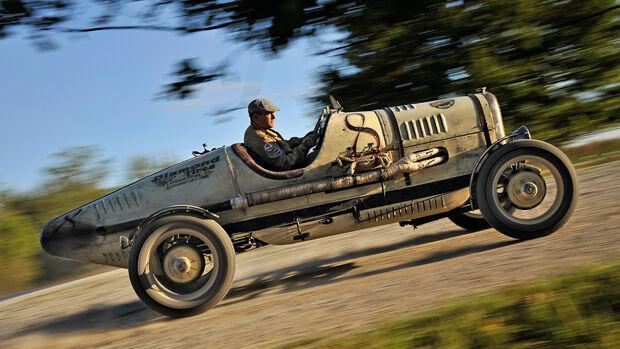 Ford A Racer, Seitenansicht