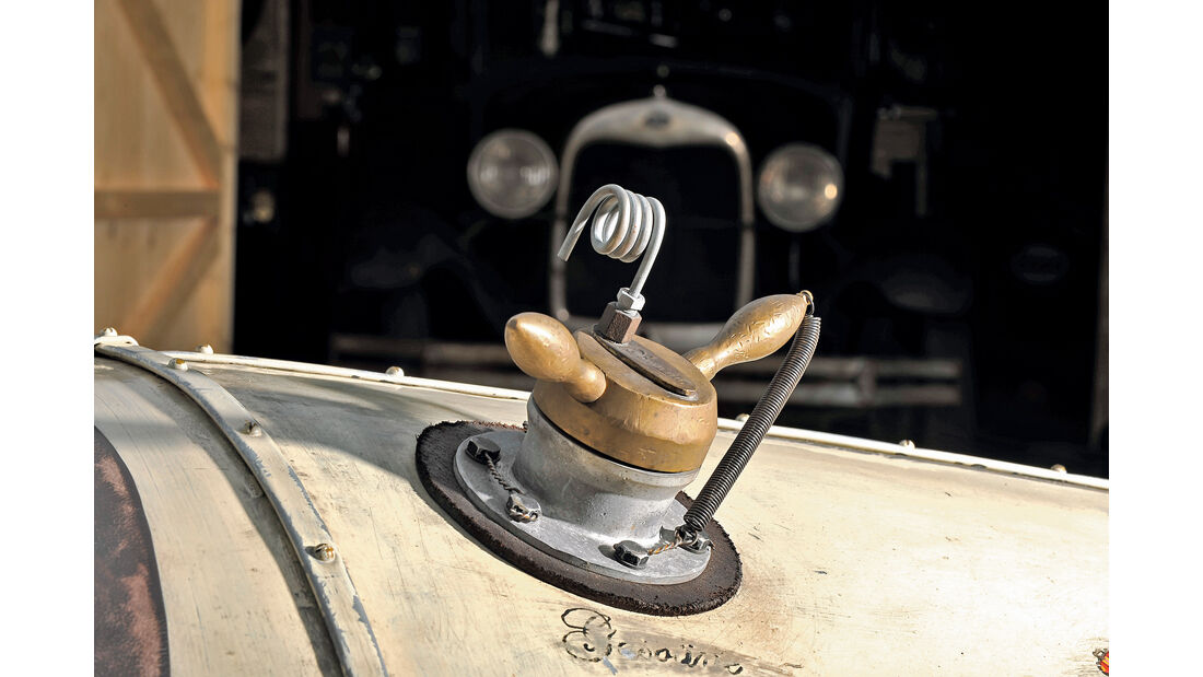 Ford A Racer, Tankdeckel