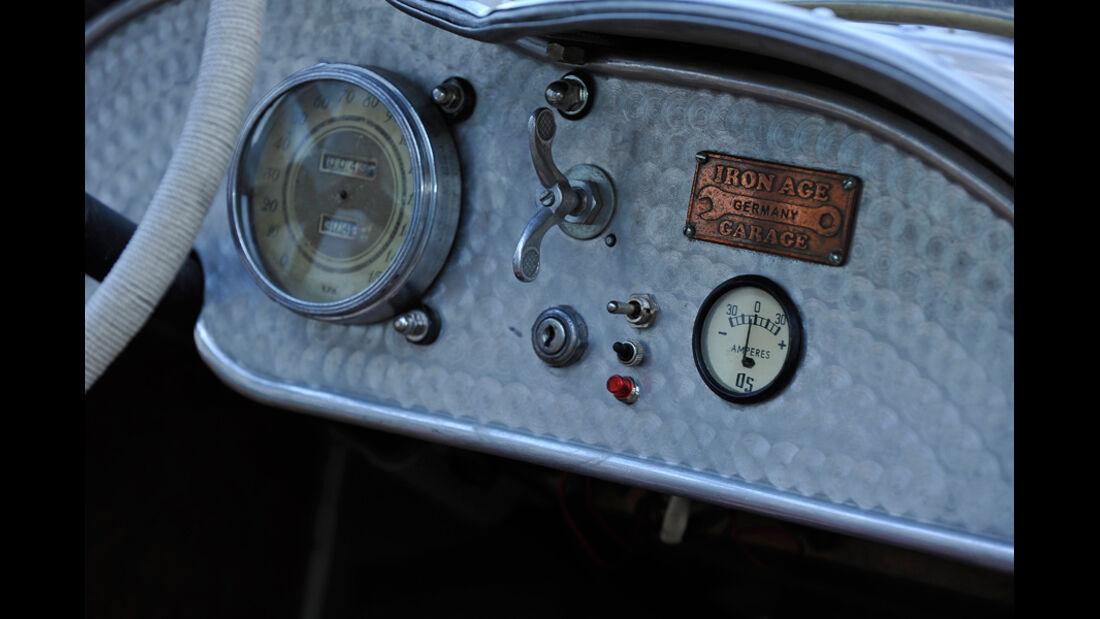 Ford A Speedster, Anzeige, Tacho