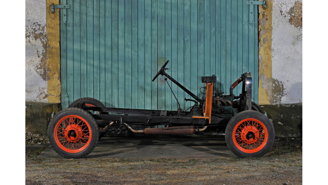 Ford A Speedster, Chassis