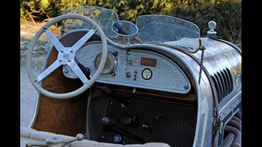 Ford A Speedster, Cockpit