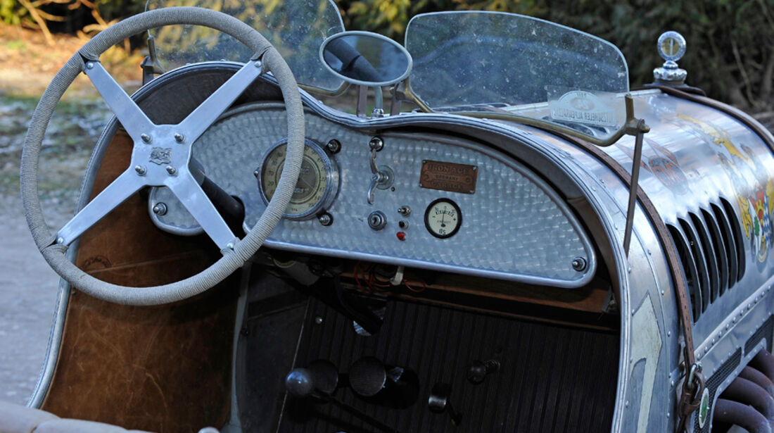 Ford A Speedster, Cockpit