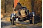 Ford A Speedster, Heck, Ausfahrt