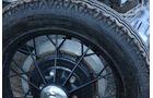 Ford A Speedster, Speichenrad
