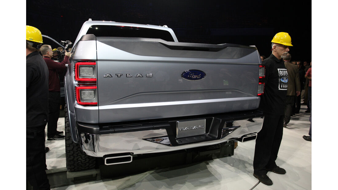 Ford Altlas Pickup Detroit 2013