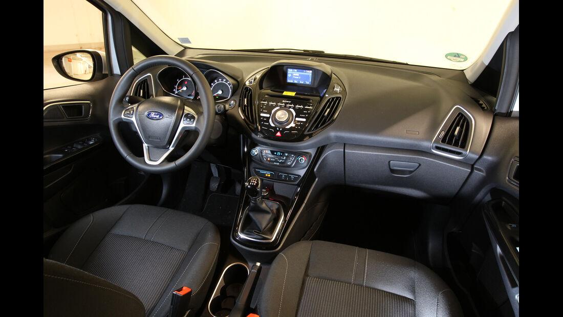 Ford B-Max 1.0 Ecoboost Titanium, Cockpit