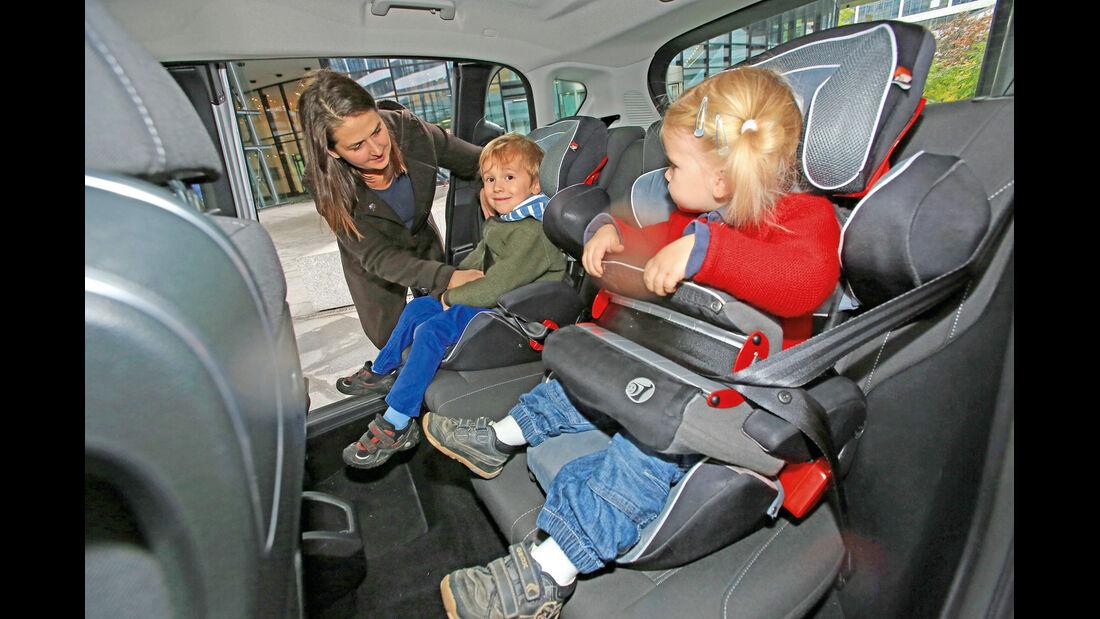 Ford B-Max 1.6 TDCi, Fondsitz, Kindersitz