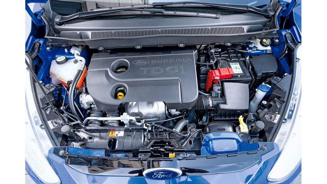 Ford B-Max 1.6 TDCi, Motor