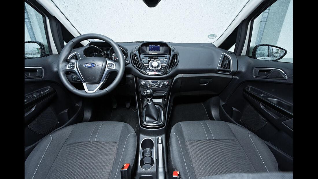 Ford B-Max 1.6 TDCi Titanium, Cockpit