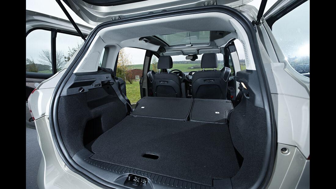 Ford B-Max 1.6 TDCi Titanium, Kofferraum