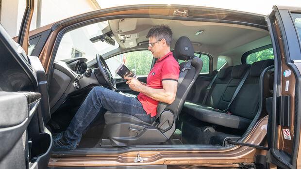 Ford B-Max, Exterieur