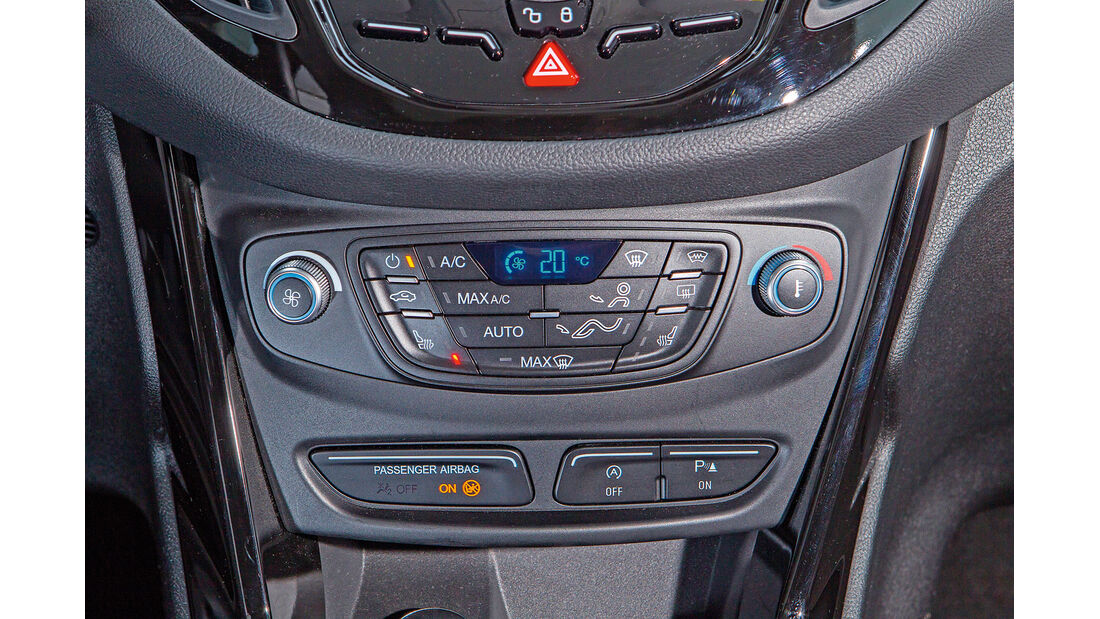 Ford B-Max, Heizung