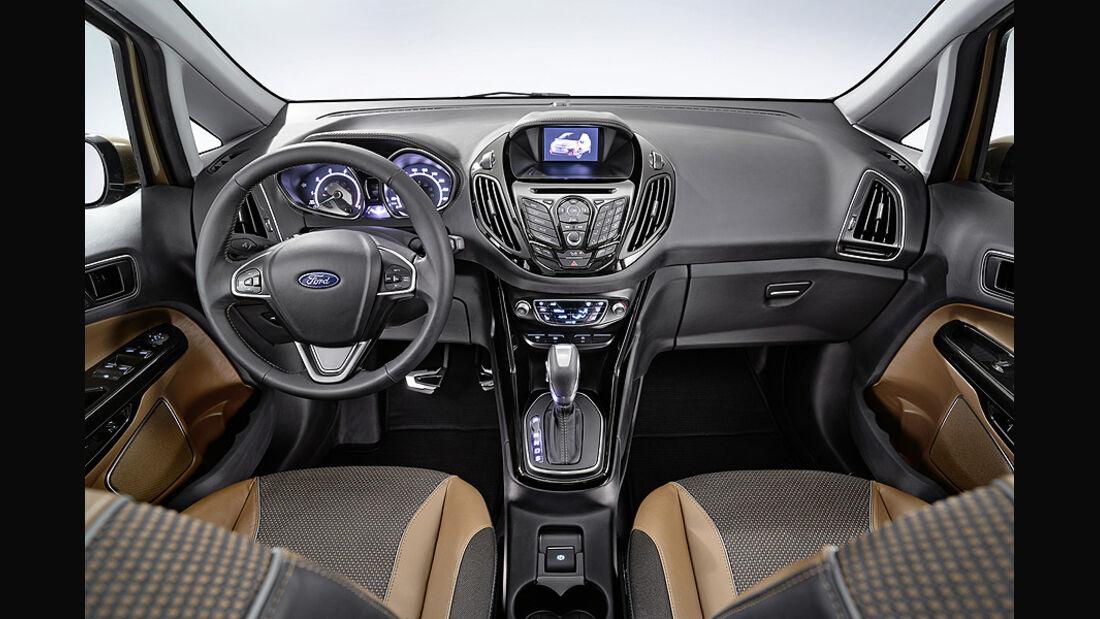 Ford B-Max, Innenraum