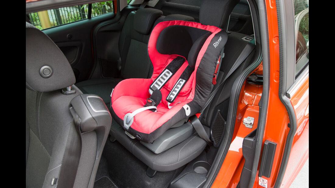 Ford B-Max, Kidersitz
