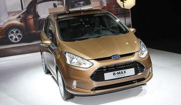 Ford B-Max, Messe, Autosalon Paris 2012