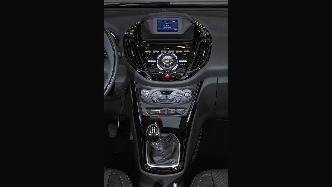 Ford B-Max, Mittelkonsole, Schalthebel