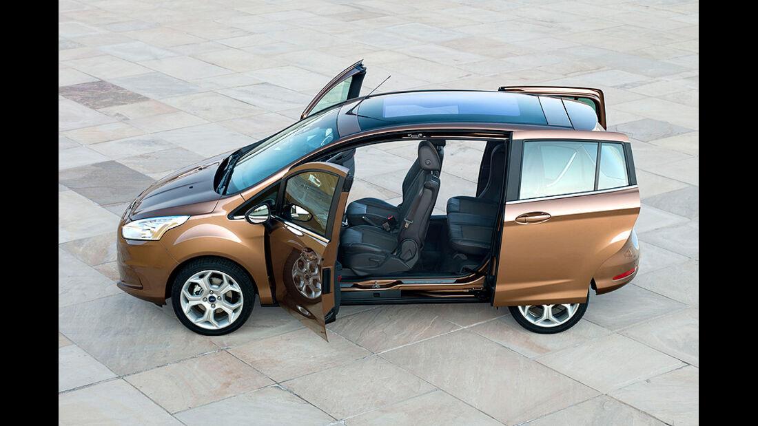 Ford B-Max, Türen