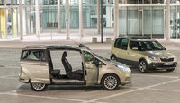 Ford B-Max und Skoda Roomster