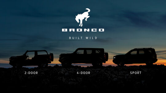 Ford Bronco Modelle