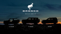 Ford Bronco Modelle