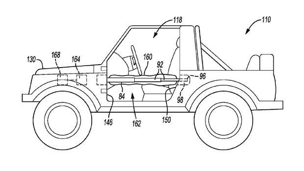 Ford Bronco Patent Seitenairbags